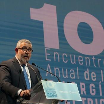 Registro Fotográfico 10º Encuentro de la Energía Eléctrica realizado en el Centro de Convenciones Parque Titanium. En Santiago:05/06/2018. Fotógrafo: Valentino Saldivar.